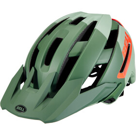 Bell Super Air MIPS Casco, matte/gloss green/infrared